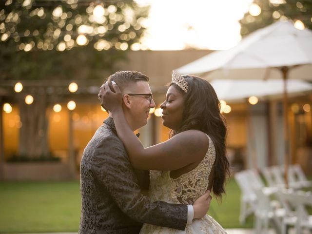 The wedding of Crystal and Joshua