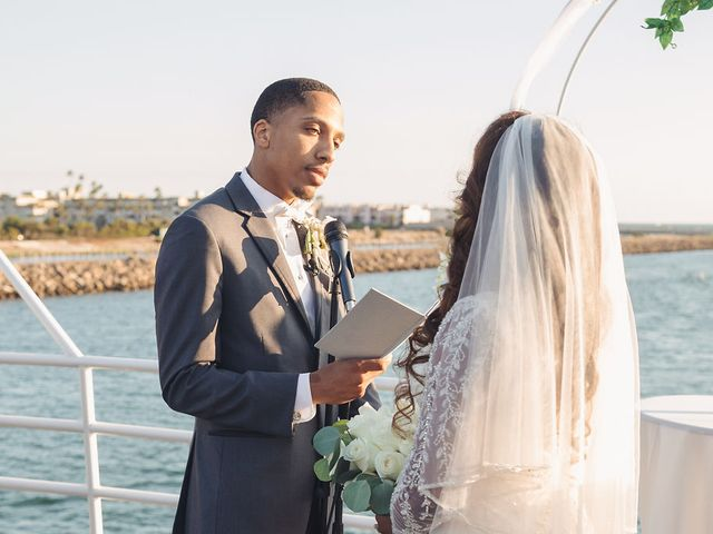 The wedding of Blair and Samuel