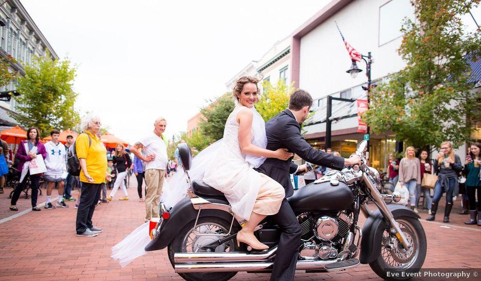 Francois and Taryn's Wedding in Burlington, Vermont
