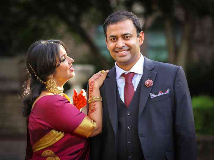 The wedding of Sania and Eric