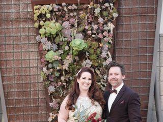 The wedding of Tabatha Wilson  and Chris Robosan 2