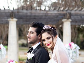 The wedding of Farhad and Neda