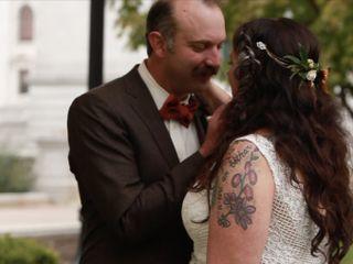 The wedding of Megan and Carlos