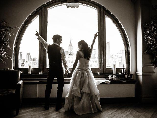 John and Jennifer's Wedding in New York, New York 1