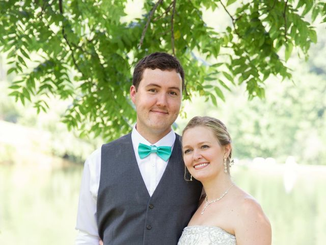 Dallas and Darrah's Wedding in Horse Shoe, North Carolina 4