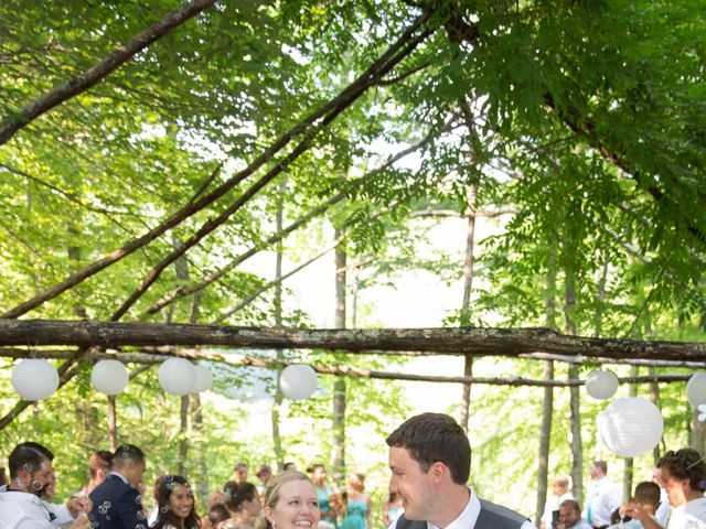Dallas and Darrah's Wedding in Horse Shoe, North Carolina 6