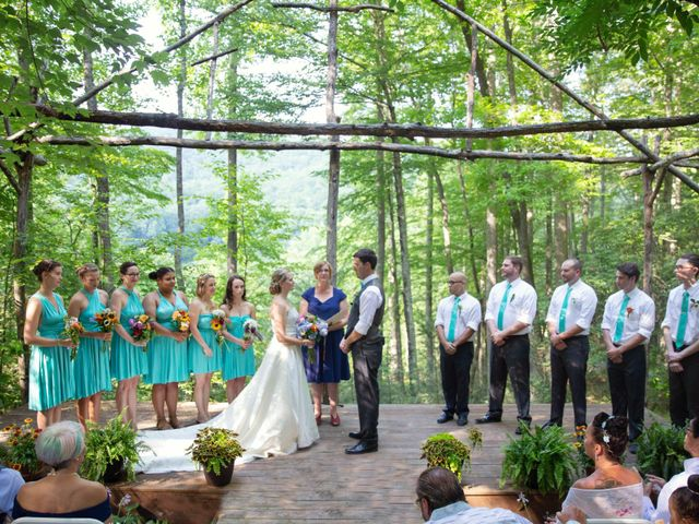 Dallas and Darrah's Wedding in Horse Shoe, North Carolina 1