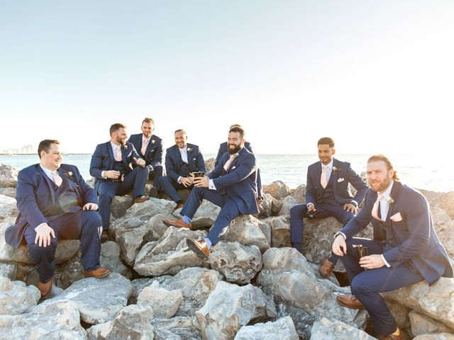 Liz and Jason's Wedding in Clearwater, Florida 24