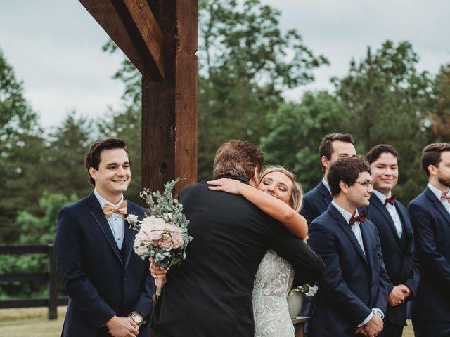 Jason and Kelly's Wedding in Scottsville, Virginia 12