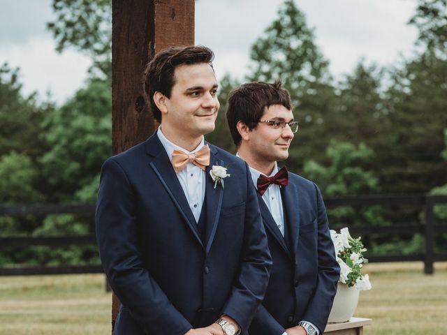 Jason and Kelly's Wedding in Scottsville, Virginia 13