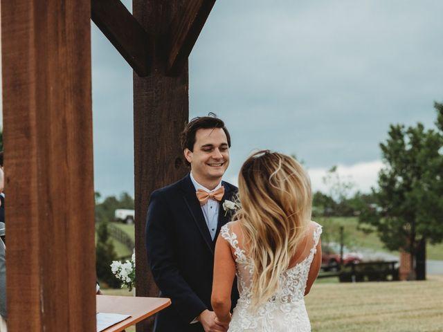 Jason and Kelly's Wedding in Scottsville, Virginia 14