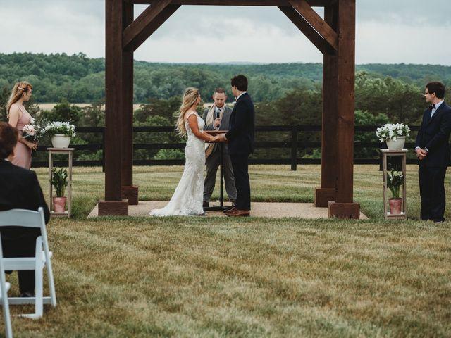 Jason and Kelly's Wedding in Scottsville, Virginia 15