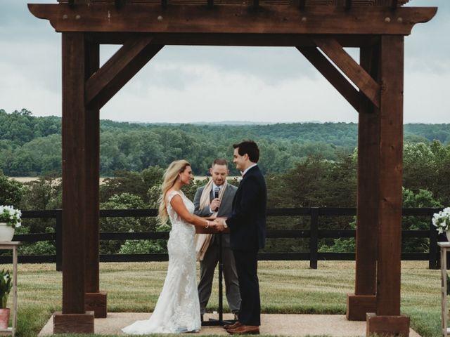 Jason and Kelly's Wedding in Scottsville, Virginia 16