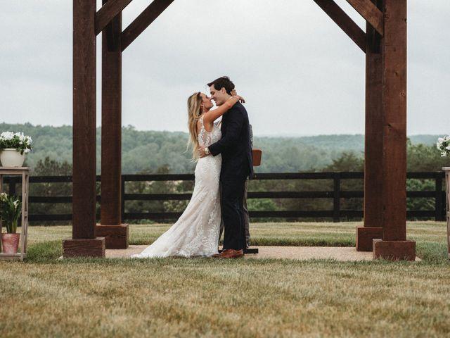 Jason and Kelly's Wedding in Scottsville, Virginia 17