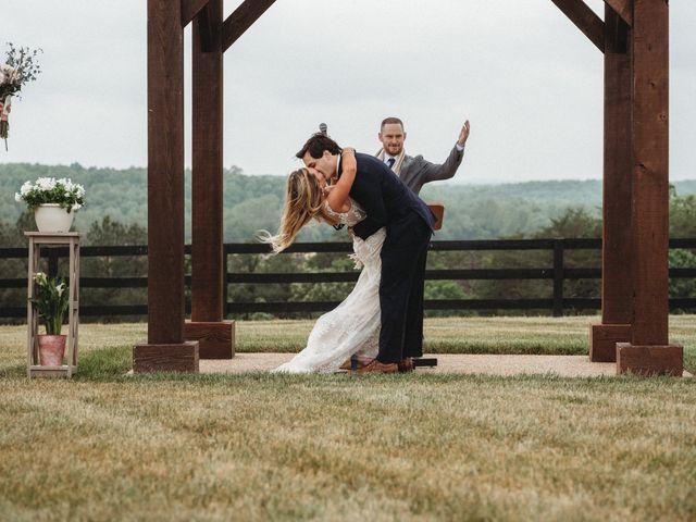 Jason and Kelly's Wedding in Scottsville, Virginia 18