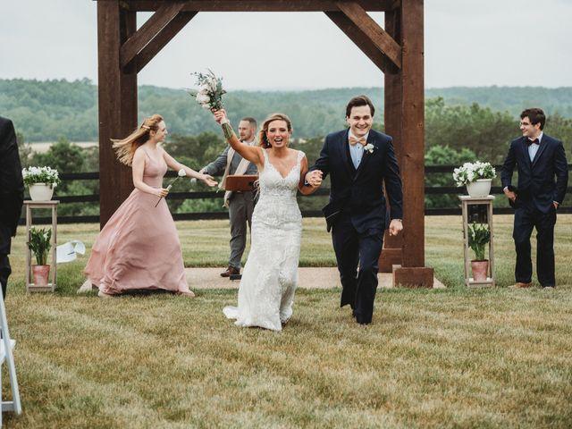 Jason and Kelly's Wedding in Scottsville, Virginia 20