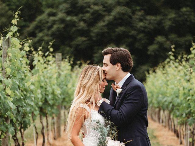 Jason and Kelly's Wedding in Scottsville, Virginia 23
