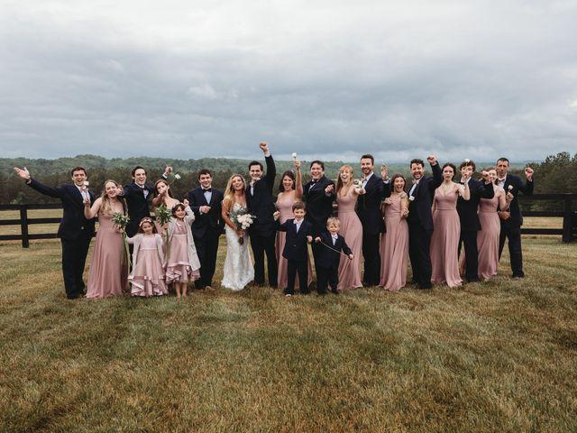Jason and Kelly's Wedding in Scottsville, Virginia 26