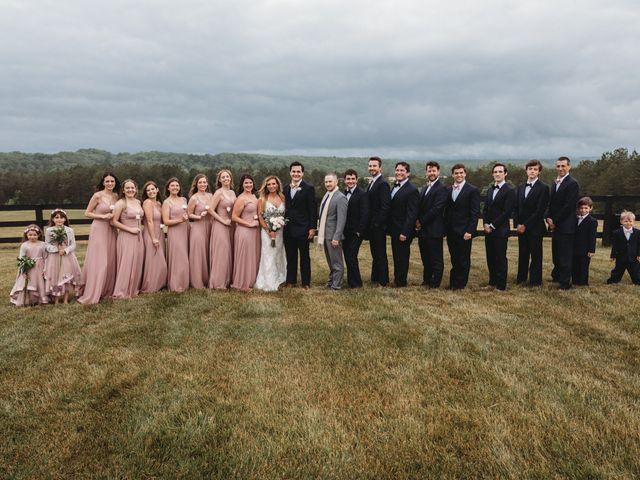 Jason and Kelly's Wedding in Scottsville, Virginia 27