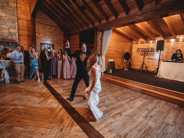 Jason and Kelly's Wedding in Scottsville, Virginia 33