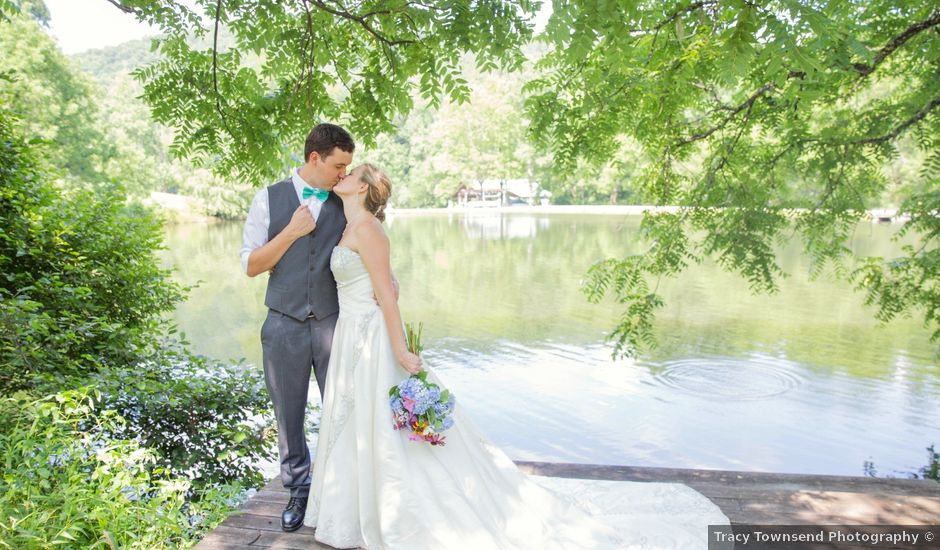Dallas and Darrah's Wedding in Horse Shoe, North Carolina