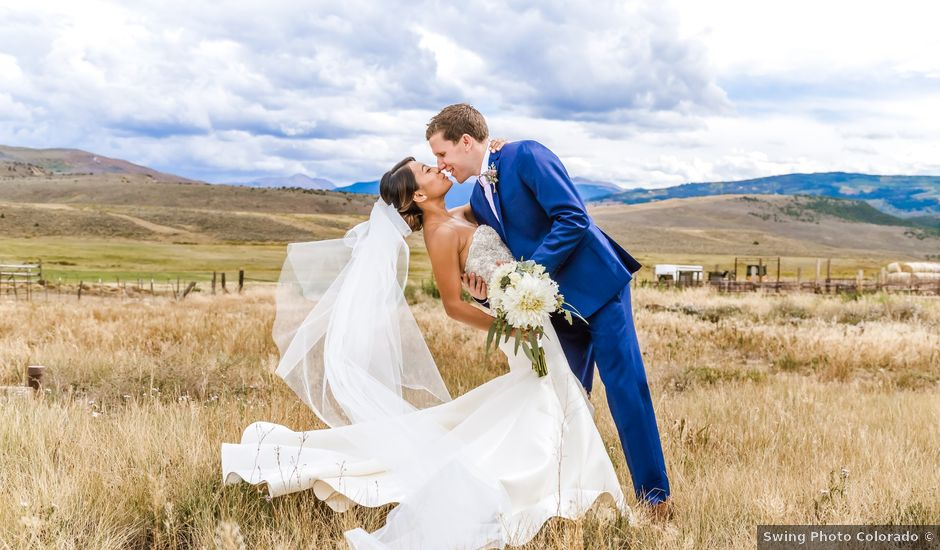 Jacob and Angie's Wedding in Wolcott, Colorado
