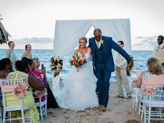 The wedding of Jamaal and Brittany