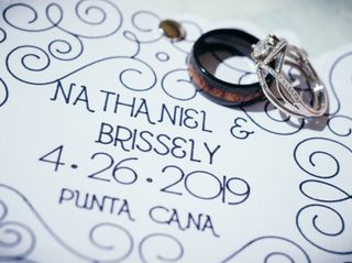 The wedding of Brissely and Nate 1