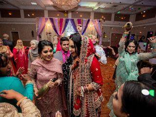 The wedding of Sana and Cameron 1