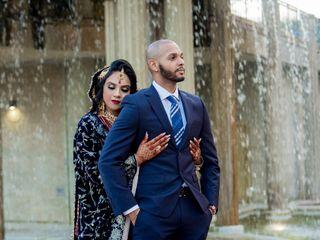 The wedding of Sana and Cameron 2