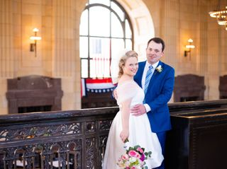 The wedding of Emily and Thomas
