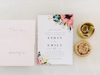The wedding of Emily and Ethan 1