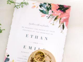 The wedding of Emily and Ethan 2
