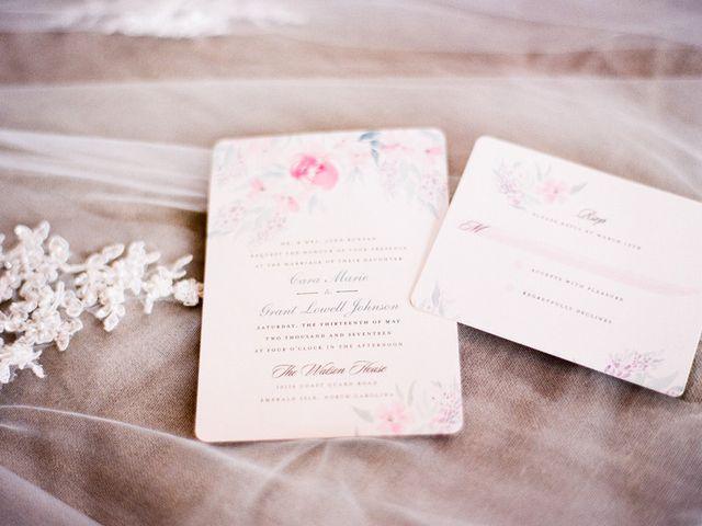 Cara and Grant's Wedding in Emerald Isle, North Carolina 1