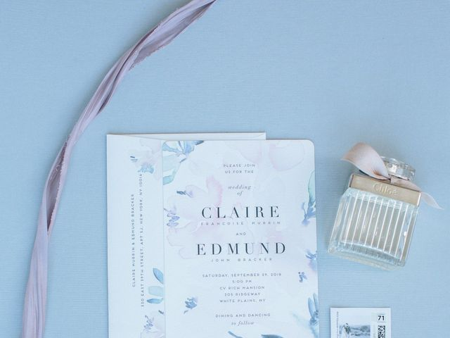 Eddie and Claire's Wedding in White Plains, New York 3