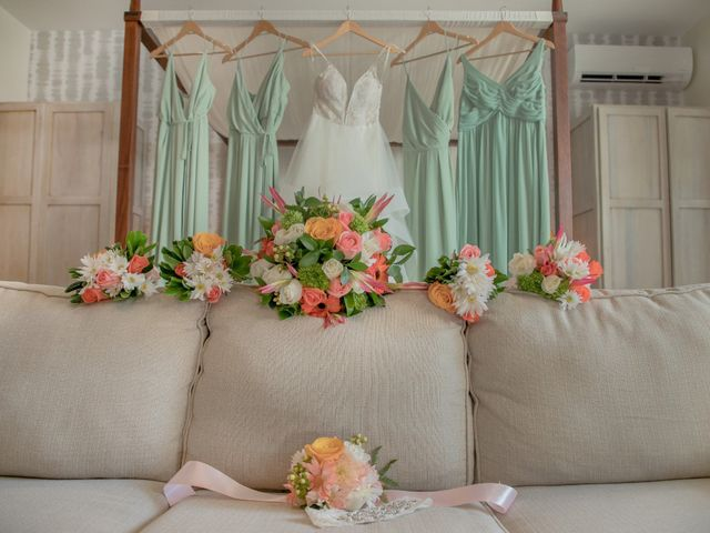 Brittany and Jamaal's Wedding in Hopkins, Belize 3