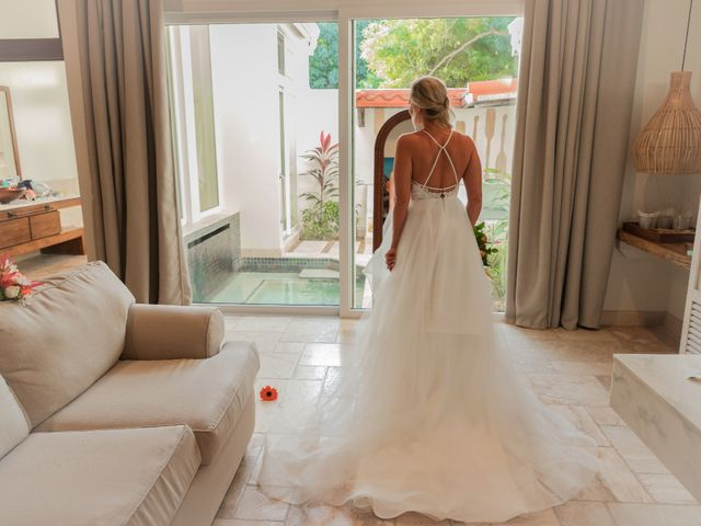Brittany and Jamaal's Wedding in Hopkins, Belize 1