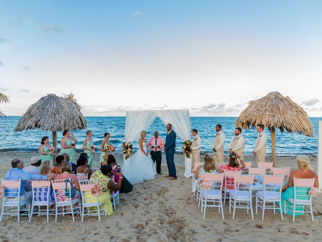 Brittany and Jamaal's Wedding in Hopkins, Belize 22