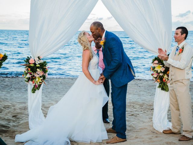 Brittany and Jamaal's Wedding in Hopkins, Belize 2