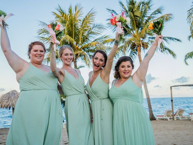Brittany and Jamaal's Wedding in Hopkins, Belize 24