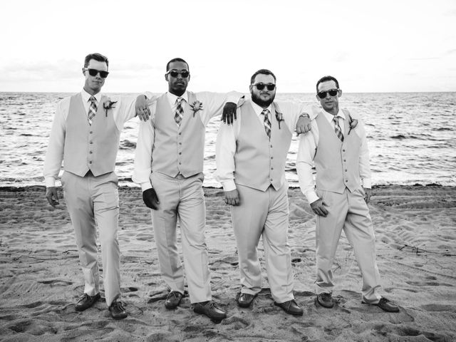 Brittany and Jamaal's Wedding in Hopkins, Belize 27