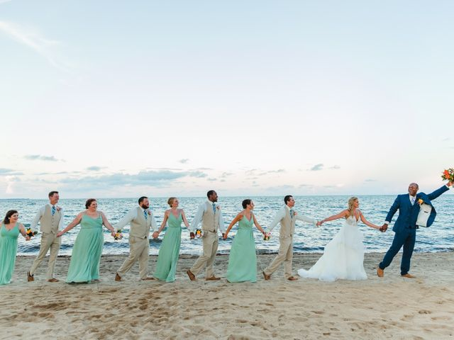 Brittany and Jamaal's Wedding in Hopkins, Belize 29