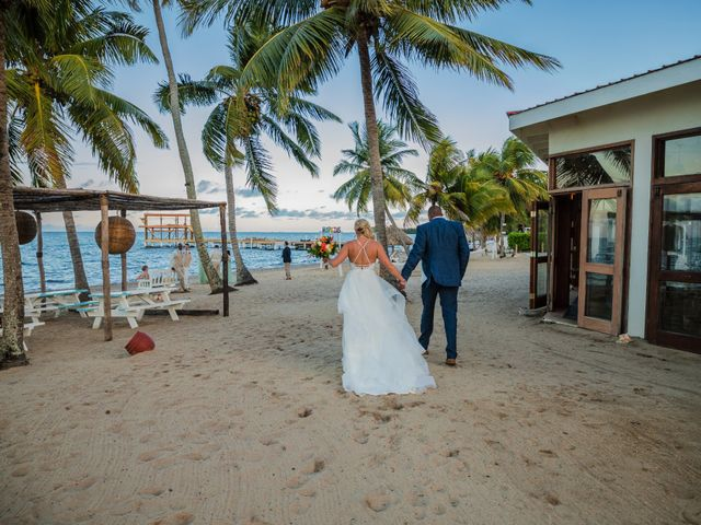Brittany and Jamaal's Wedding in Hopkins, Belize 30