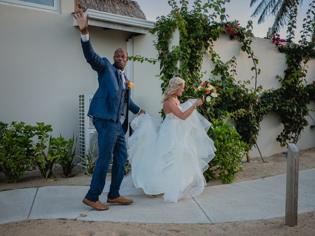 Brittany and Jamaal's Wedding in Hopkins, Belize 31