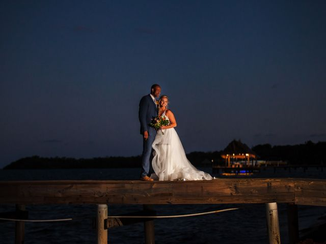 Brittany and Jamaal's Wedding in Hopkins, Belize 32