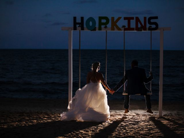 Brittany and Jamaal's Wedding in Hopkins, Belize 33