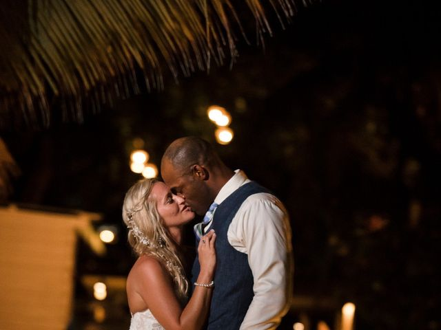Brittany and Jamaal's Wedding in Hopkins, Belize 35