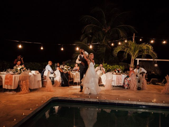 Brittany and Jamaal's Wedding in Hopkins, Belize 39