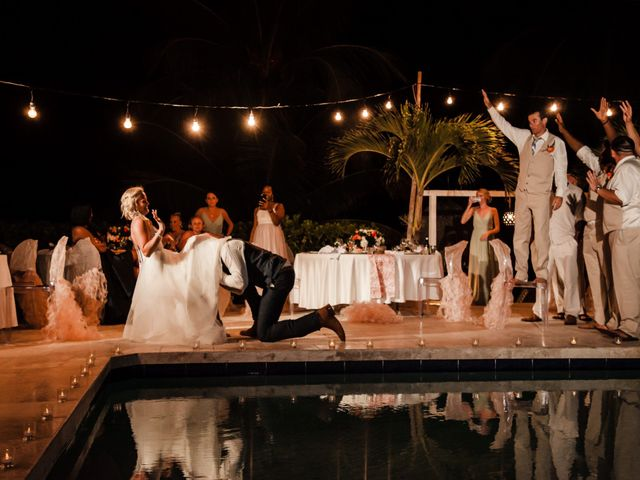 Brittany and Jamaal's Wedding in Hopkins, Belize 41