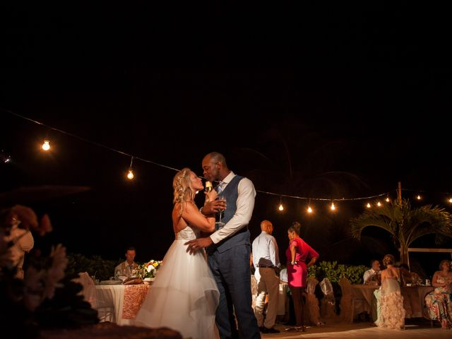 Brittany and Jamaal's Wedding in Hopkins, Belize 46
